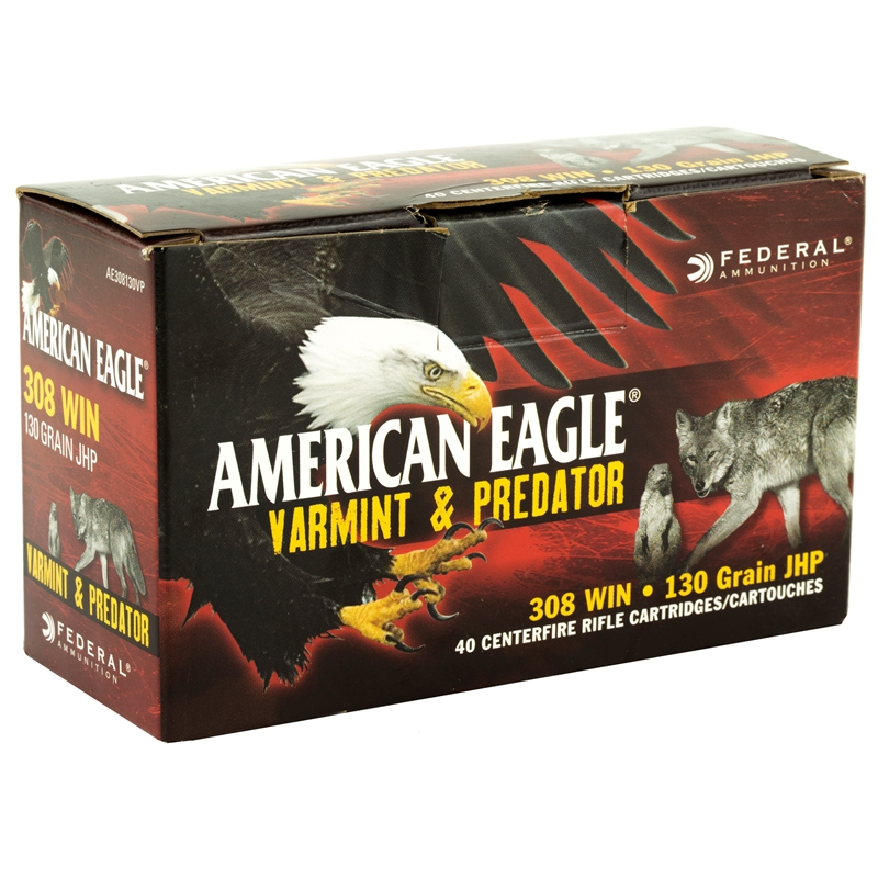 Federal Ammo AE Varmint and Pred